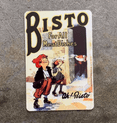 Bisto For All Meat Dishes Ah Bisto - Metal Advertising Wall Sign